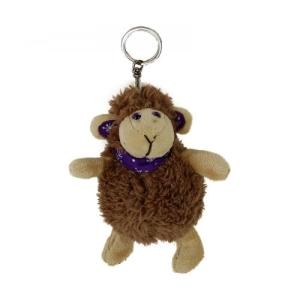 Schlüsselanhänger Schaf  Plüsch Kuscheltier Schäfchen