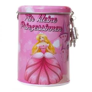 Spardose Prinzessin Metall Sparbüchse Geschenk Mädchen