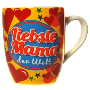 Tasse LIEBSTE MAMA DER WELT Kaffeetasse Kaffeebecher