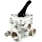 6-Wege-Ventil für Triton TM Pentair Sandfilter (Trition TM Pentair Sandfilter und Ersatzteile: 6-Wege-Rückspülventil 1 1/2 Zoll für Triton, neues Dichtsystem im Druckteller)