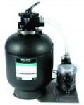 Cristal-Flo Sandfilteranlage mit Swimmey-Pumpe (Cristal Flo: Einlegeteil 1 1/2Zoll für Pumpenverschraubung als Ersatzteil)