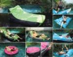 Floating Lounge für Ihren Pool und Garten (Floating Lounge: Sofa-Lunge Snooz, grün)