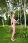 Edelstahl-Gartendusche COBRA für Garten und Pool
