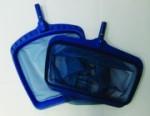 Laubkescher, blau für Ihren Pool (Kescher: Laubkescher flach, ca. 38 x 43 cm)