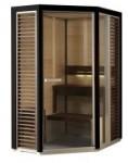 Saunakabine Impression i1115, Saunavergnügen auf kleinstem Raum