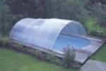 Schiebeüberdachung  SUN ROOF Classic, Hallenbreite 4,75 m