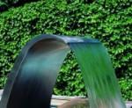 Schwalldusche Welle aus Edelstahl, lieferbar in drei Ausführungen (Schwalldusche Welle: Version 1)