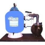 Triton II Sandfilteranlage  mit CLEARPRO TECHNIK + Energiesparpumpe (Trition II Sandfilter mit S5P2R-VS: Ø 480 mm, 230 V)