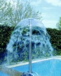 Wasserglocke aus Edelstahl (Wasserglocke: Edelstahl matt)