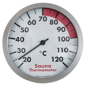 Sauna-Thermometer 120 mm