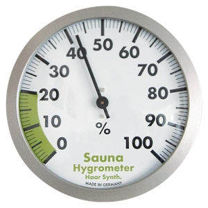 Sauna-Hygrometer 120 mm