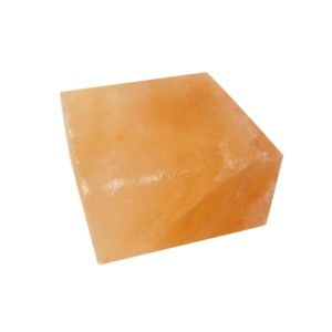 Halber Salzziegel glatt, 10x10x5 cm (Salzziegel: Frachtkosten Österreich bei ca. 100 Stück / pro Stück)
