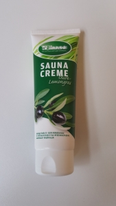 Sauna-Creme Olive-Lemongras von Finnsa (Sauna-Creme Olive-Lemongras: 125 ml)