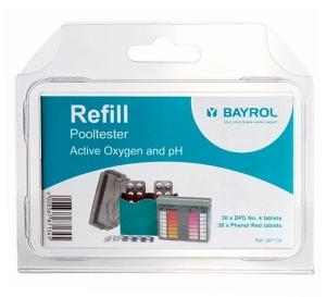 Nachfüllpack für den Pooltester pH/O2 von Bayrol