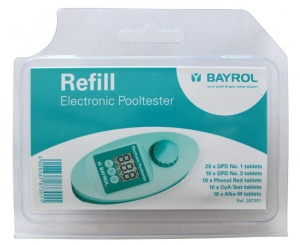 Ersatztabletten für elektronischer Pooltester von Bayrol