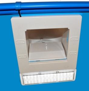 Einbauskimmer EBS 1100 mit Beleuchtung
