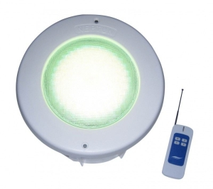 Unterwasserscheinwerfer LED Neptun maxi Farbwechsel mit Fernbedienung (Unterwasserscheinwerfer LED Neptun maxi: UWS Farbwechsler 270 LED´s mit 19 Watt und Fernbedienung)