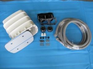 Vormontagesatz Gegenstromanlage Astral Sprint 2000