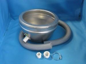 Betoneinbaunische für Unterwasserscheinwerfer V4A