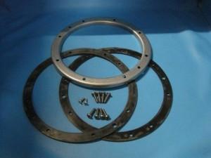 Flanschsatz für Unterwasserscheinwerfer V4A