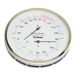 Sauna-Messgeräte in drei Ausführungen von Finnsa (Sauna-Messgeräte 130 mm: Sauna-Thermometer)