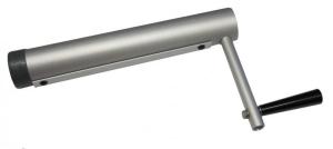 Aufrollstangen für Isoplanen (Aufrollvorrichtung: Aufrollstange bis D 350 cm, Tragrohr 380 cm)
