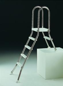 Hochbeckenleiter für Teileinbauschwimmbecken (Leiter f. Teileinbaubecken: E120/40)