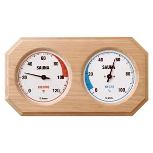 Sauna-Messgeräte, in Holz gefasst (Sauna-Messgerät in Holz gefasst: Sauna Thermometer)
