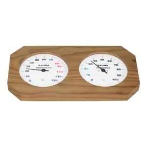 Sauna-Hgrotherm, in Holz gefasst, thermobehandelt
