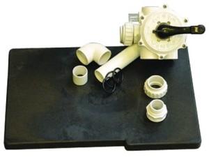 WT 400 + 500 Sandfilter Ersatzteile, Anschußgarnitur, Palette (WT  Sandfilter Ersatzteile und Zubehör: Anschlußgarnitur für Schlauch, je Filterkessel werden 2 Stück benötigt)
