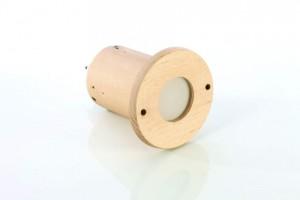 LED-Einbauleuchte einfarbig weiß für die Sauna