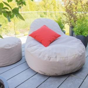 4-Jahreszeiten Outdoor Sitzsack Slope XL (Farbe: beige plus)