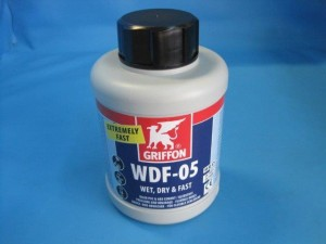 Griffon Kleber WDF-05 für Poolflex Rohr (Griffon Kleber blau: 250 g)