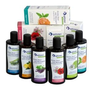 Aroma Haut - und Massageöl von Spitzner, Pflege die berührt (Aroma Haut- und Massageöl: Grapefruit-Minze)