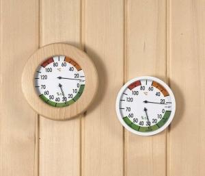 Klimamesser Sauna/Vital/Infrarot (Klimamessern: Makrolon)