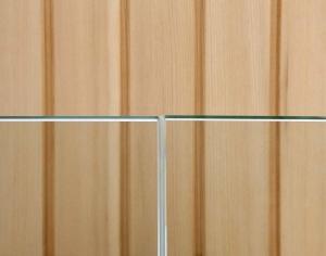 Glas an Glas Stoßdichtung transluzent * Sonderzuschnitt keine Rücknahme Preis je lfdm