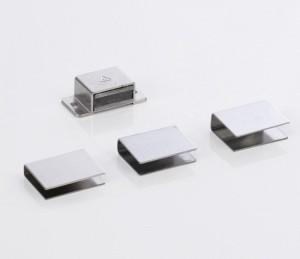 Türmagnet zum Anschrauben (Türmagnet zum Anschrauben mit U-Haftblech: für Glastürenstärke 10 mm)