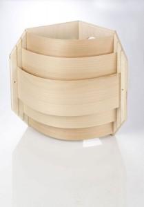 Blendschirm für die Eckmontage Ihrer Saunalampe (Blendschirm für die Eckmontage: nur Blendschirm)