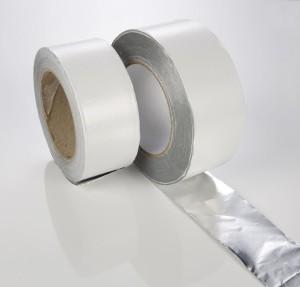 Aluminium-Selbstklebeband für den Saunabau (Aluminium-Selbstklebeband: 50 m-Rolle)