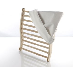 Ergonomisch geformte Rückenlehne für angenehmes Sitzen (Ergonomische Rückenlehne: Schmal ohne Frottebezug)