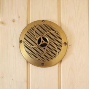 Lautsprecher für die Sauna, goldfarbig