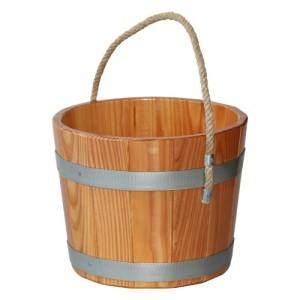 Sauna-Kübelmit Trageseil, 5 Liter