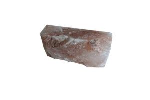 Salzziegel aus Himalaya-Salz zur Wandgestaltung (10 Stk.) (Salzziegel (10-er Set): 200 x 100 x 50 mm (10 Stk = ca. 0,2 m²) 6 Seiten glatt)