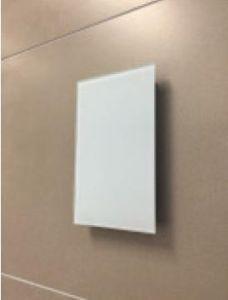 Sunshower Magnetische Abdeckplatte (Abdeckplatten 2-er Set: Farbe weiß für Pure und Pure XL)