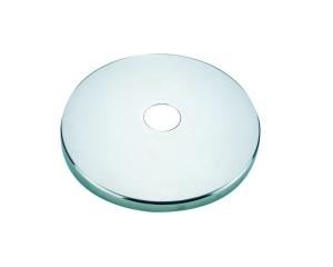 Abdeckrosetten für Wasserattraktionen (Abdeckrosetten V4A Edelstahl, poliert: Durchmesser 129 mm)