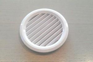 Raumseitige Rohrblende z. B. in Kombination mit der Adapterplatte