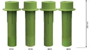 Beckenwanddurchführung UniSet für Betonbecken (Beckenwanddurchführung UniSet: 36125, 150 mm Ø 50/63 mm)