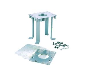Betoneinbauteil für die Druckseite von Wasserattraktionen/Folie (Betoneinbauteil Druckseite für Folienbecken: Rechteckig 197 x 142 mm)