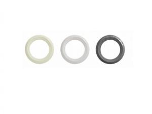 Blenden für Grundelement mit Flansch UniSet (Blenden für Grundelement mit Pressflanschfunktion: rund, cremeweiß)