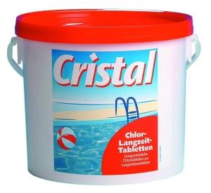 Cristal Chlor-Langzeit-Tabletten, 5 kg